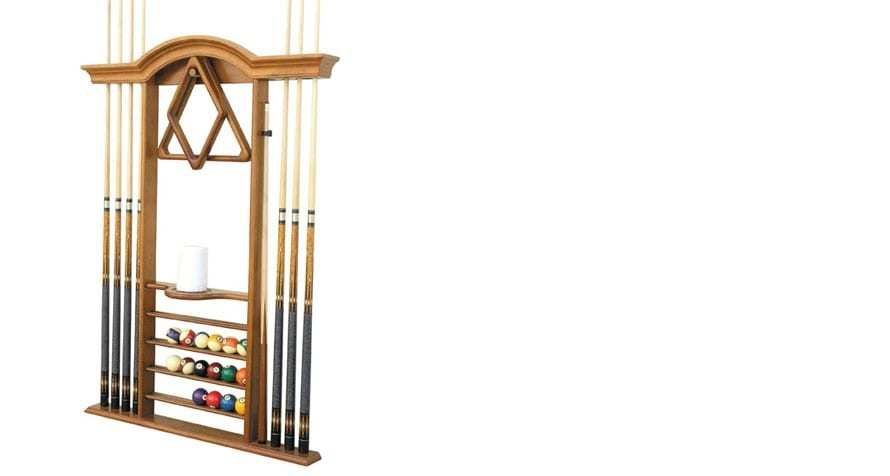 Deluxe Wall Cue Rack