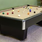 Addison pool table with Camel Cloth